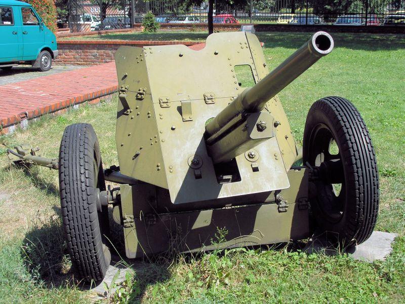 45-мм противотанковая пушка обр